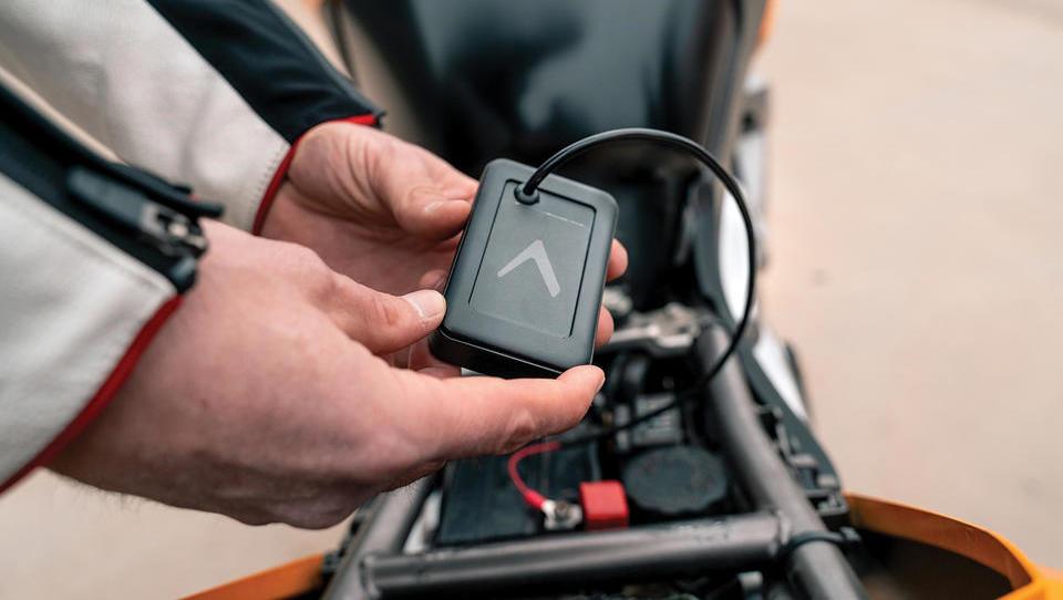 Slovenska aplikacija, ki bo obvarovala vaš motocikel