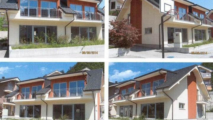 Prodanih sedem od devetih nedokončanih hiš v Vikrčah