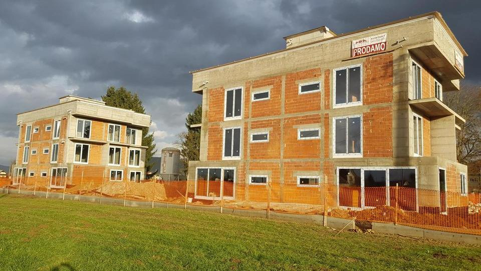 (Nepremičnina tedna) Nova stanovanja v dveh vila blokih v Dobrunjah