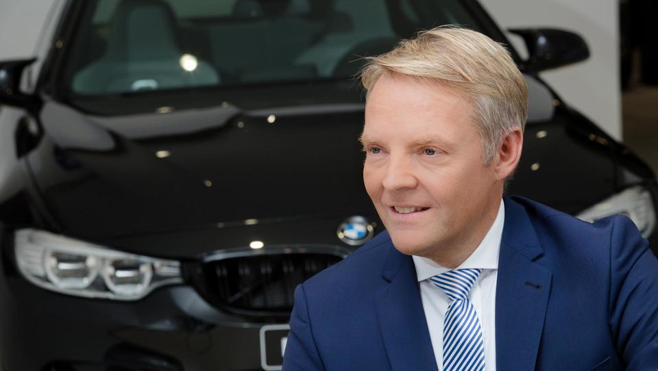 (intervju) Predsednik BMW, ki bo spremenil nakupne navade Slovencev in ukinil napihovanje statistike