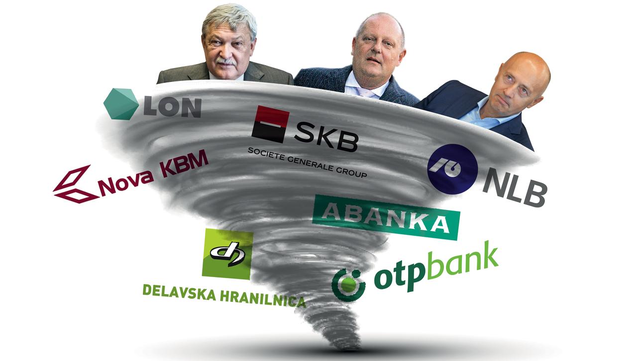 Senica, Kitajec, Kostić, denarna piramida, tuji skladi – kdo maršira po slovenskih bankah?