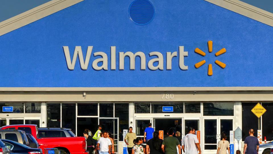 Walmart v enem dnevu izgubil desetino tržne kapitalizacije, skoraj 30 milijard dolarjev