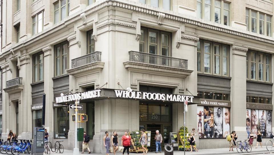 Amazon v prevzem verige supermarketov z zdravo hrano