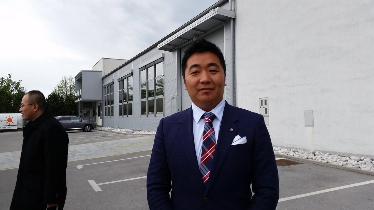 Ivo Boscarol bo na Kitajskem zidal tovarno letal; kitajski partner manjšinski lastnik