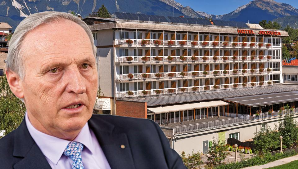 Jankovićevi so blejski hotel Jelovica prodali Otmarju Zornu
