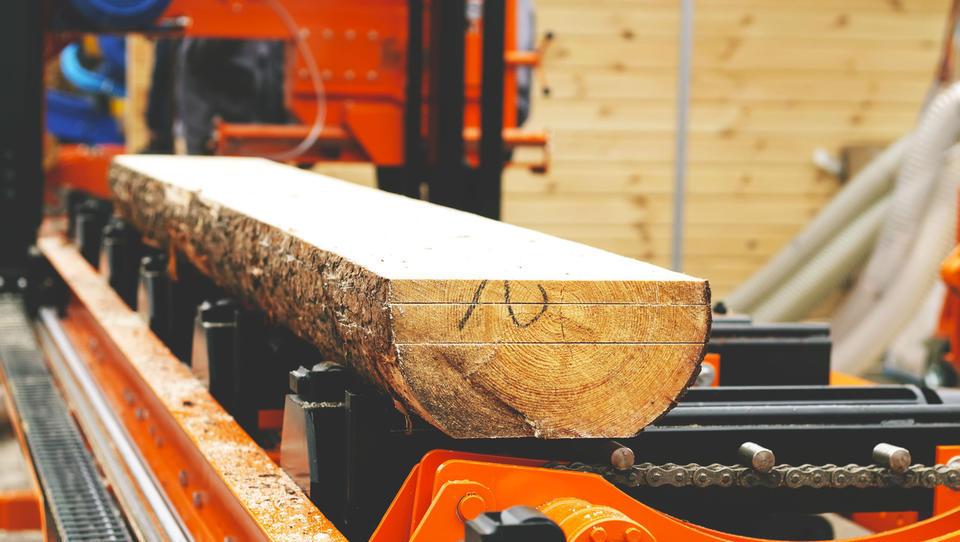 Zagon 40-milijonske investicije v lesno žago