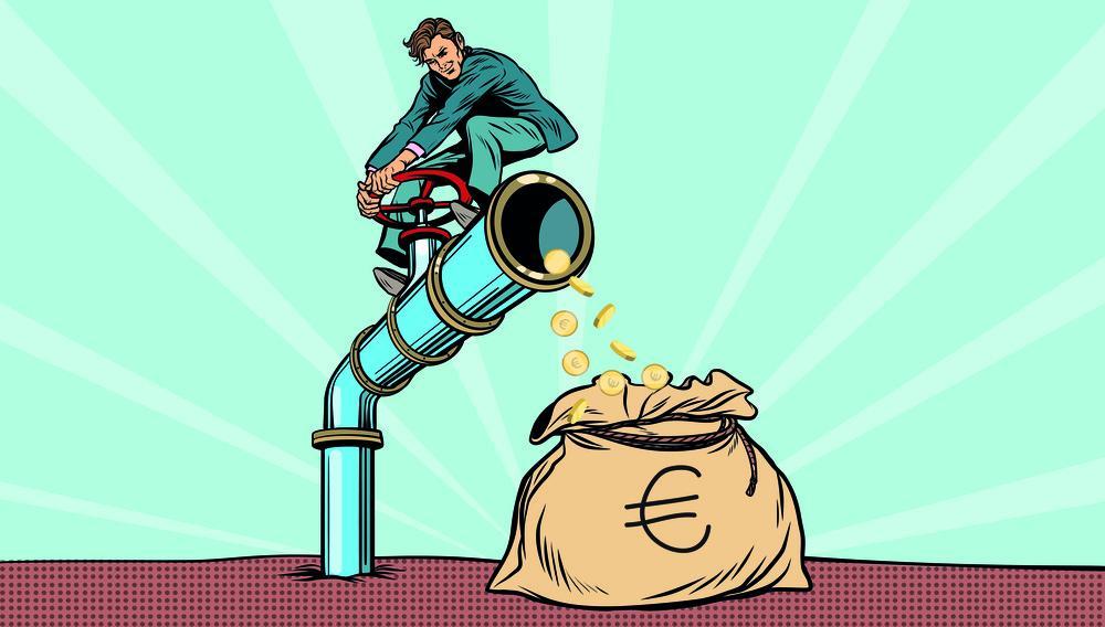 Kje je evropski denar? Iz bruseljske pipe v pol leta prikapljalo komaj kaj
