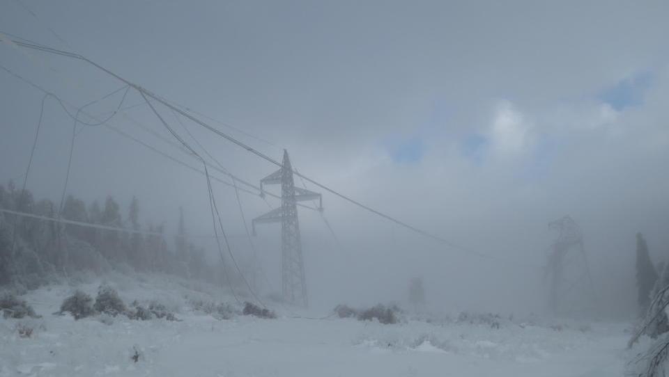 Evropske elektro napovedi: konec januarja bo za Slovenijo težak