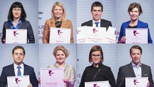 Najboljša letna poročila so letos pripravili Zavarovalnica Triglav, Krka, ELES, CEF, NLB, Sava Re, Fraport in Petrol