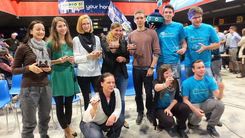 Na slovenskem Imagine Cupu letos najboljši Kawboom, Okeana in Shop or Drop