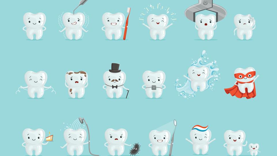 Kako ravnati ob poškodbi zob