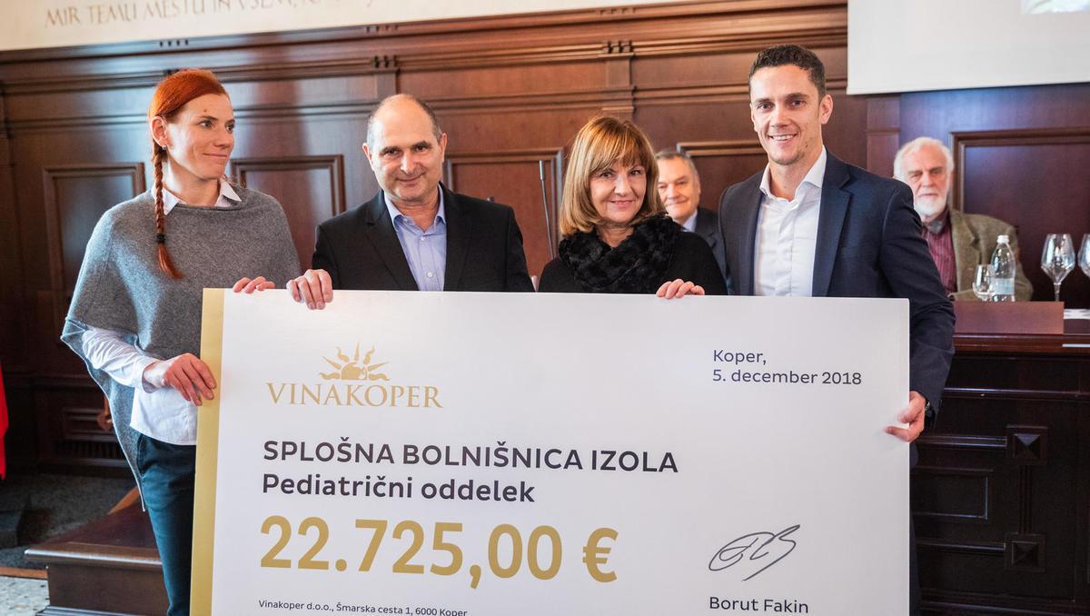 Rekordna 20. dobrodelna licitacija barikov Vinakoper