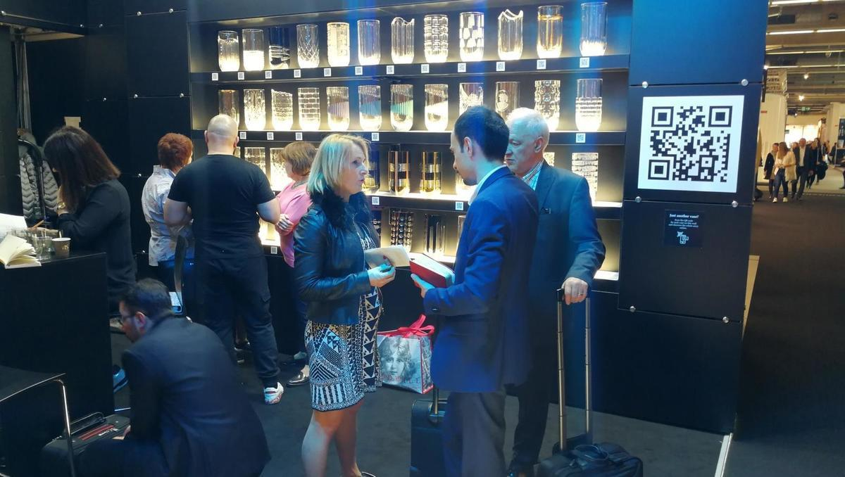 Steklarna Rogaška z inovativnim pristopom navdušila na frankfurtskem salonu Ambiente