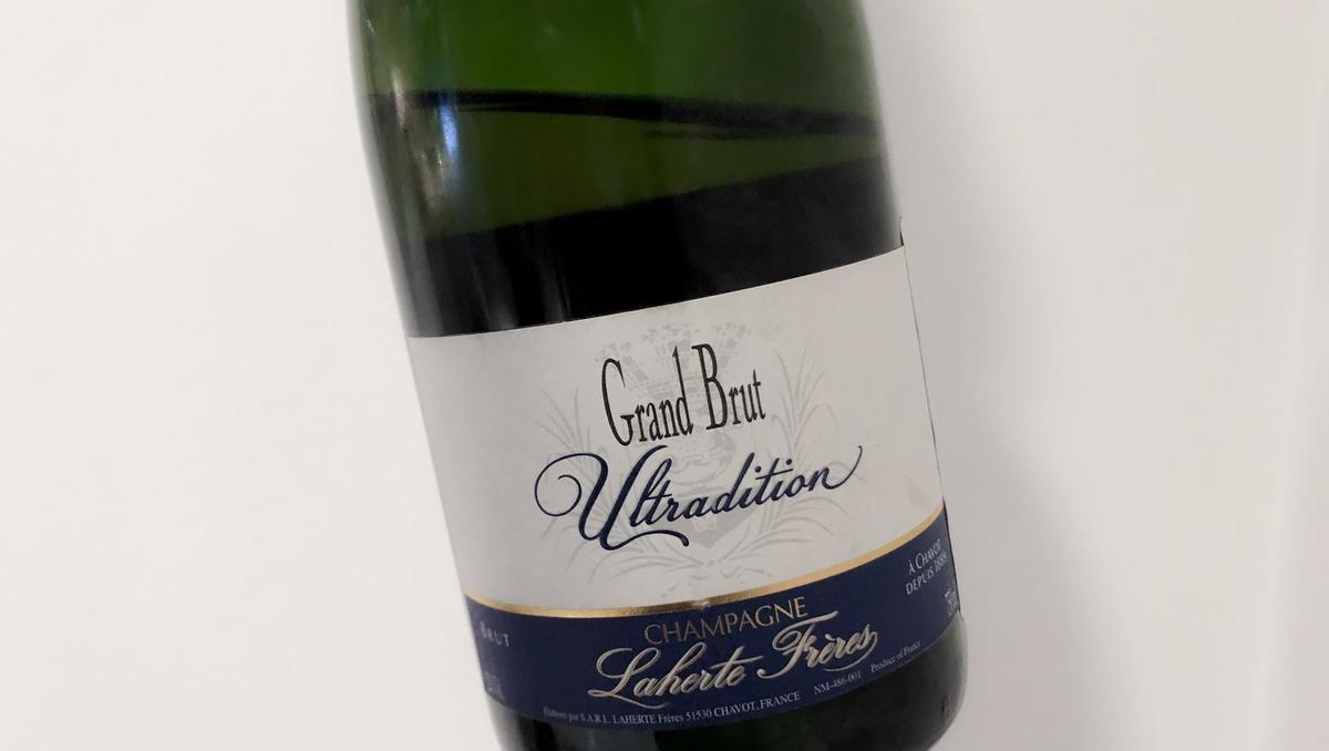 Vino tedna: Grand brut ultradition, Laherte frères