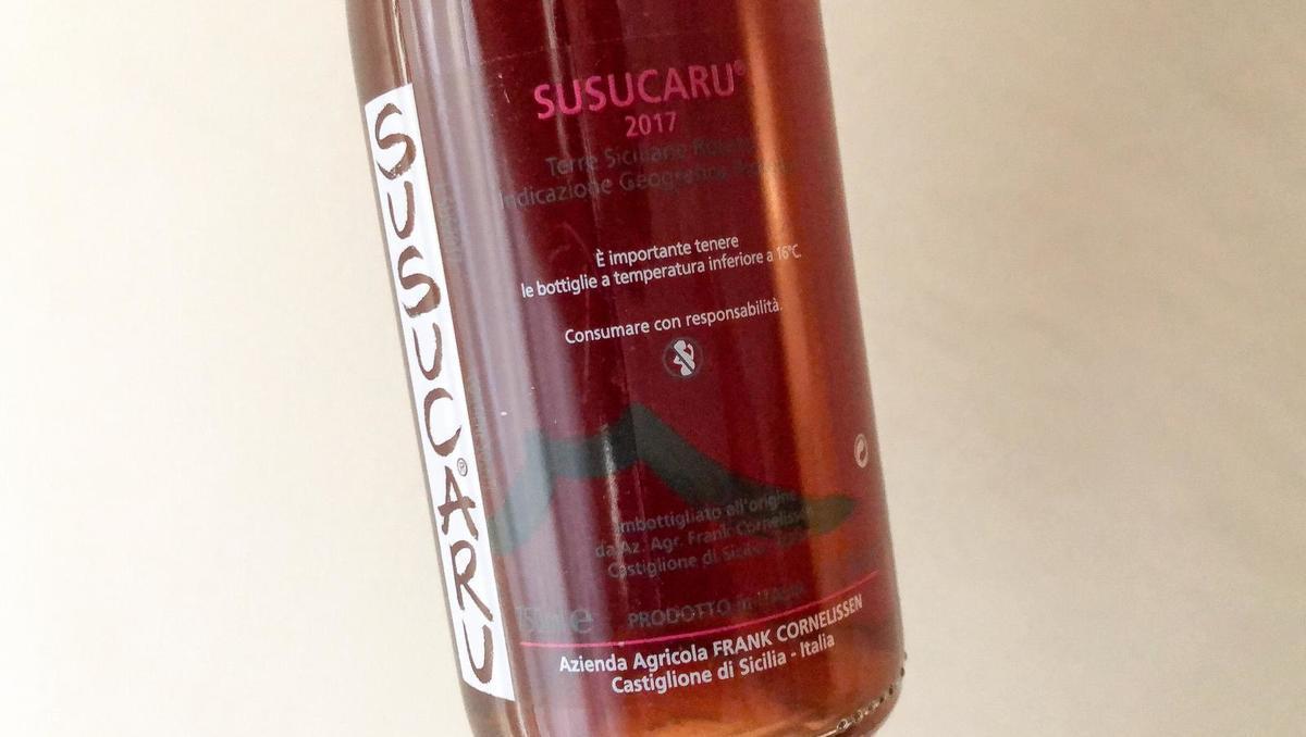 Vino tedna: Susucaru rosato 2017, Frank Cornelissen