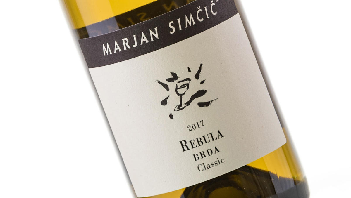 Vino tedna: Rebula classic 2017, Marjan Simčič