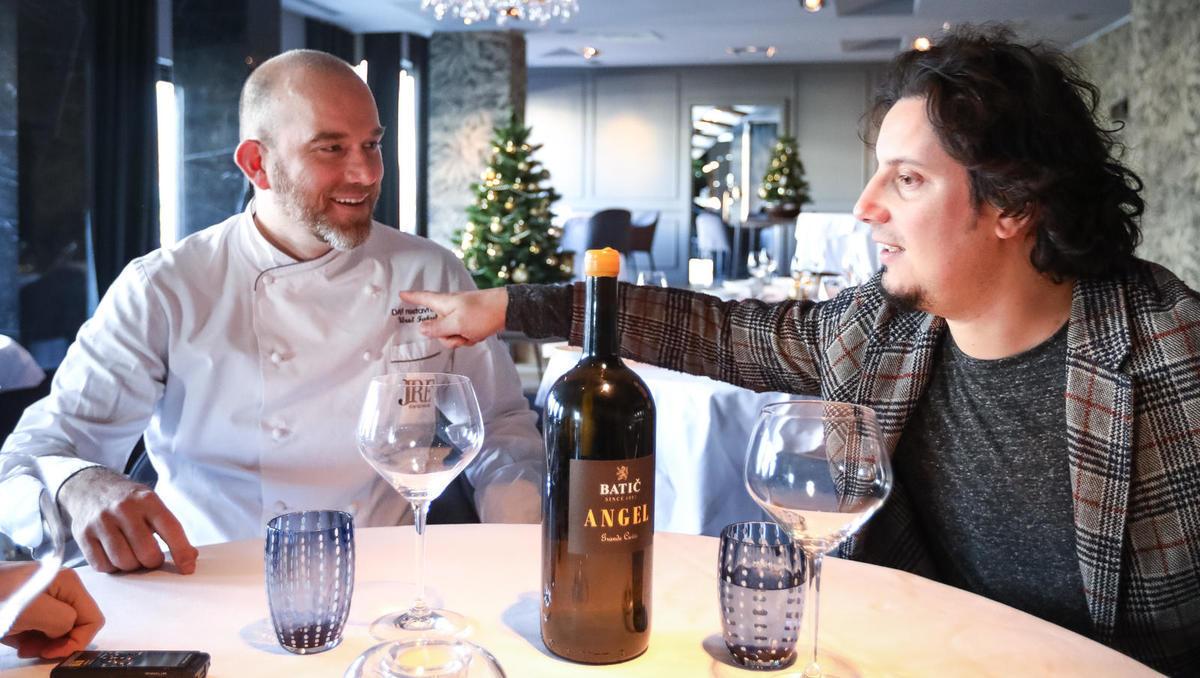 Dvojni intervju: Batič pri Fakuču poskusil ostrige brez ostrig