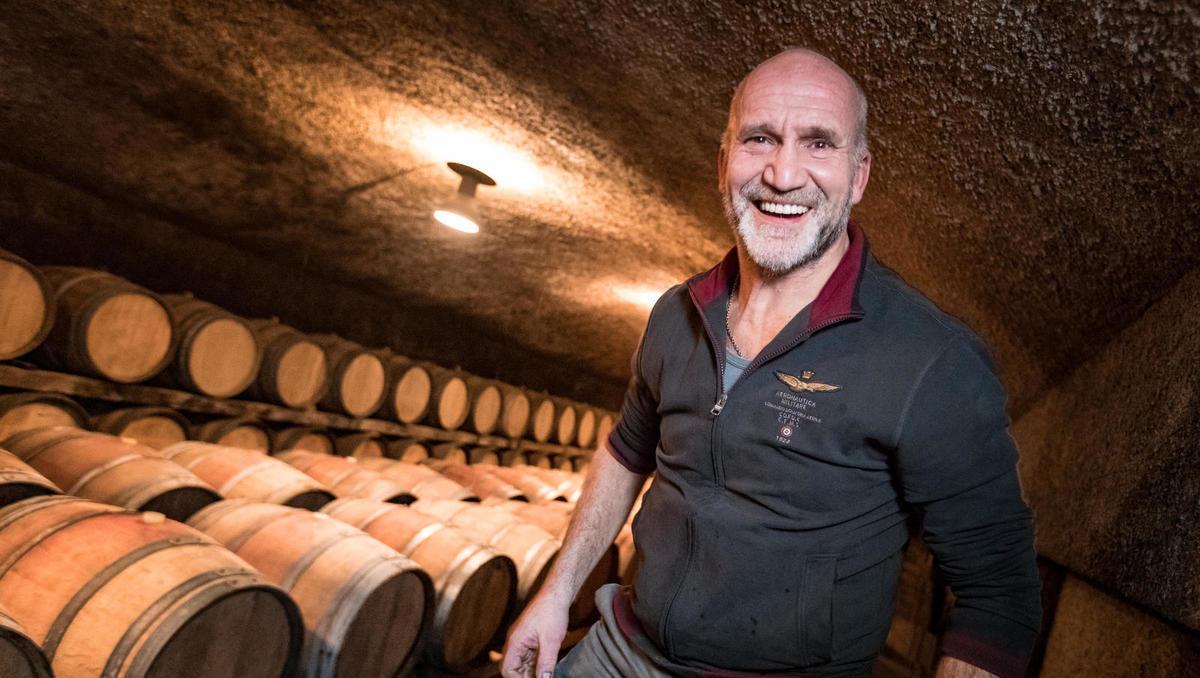 Od zemlje do vina: Aleš Kristančič vina ne prodaja, a nekdo ga vseeno kupi