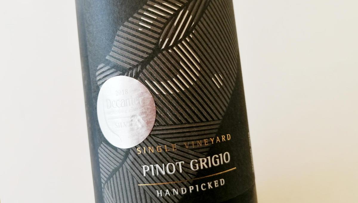 Vino tedna: Sivi pinot seven numbers 2017, Puklavec Family Wines