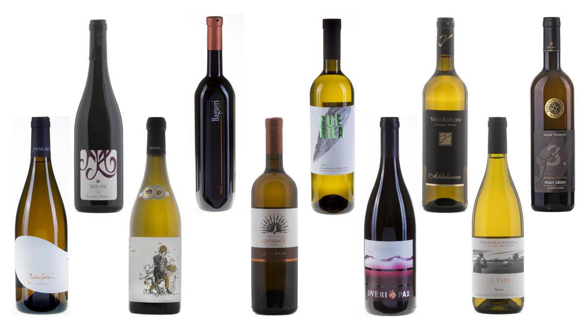 (IZBOR) 10 prazničnih vin do 15 evrov