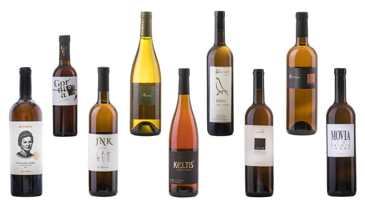 (IZBOR) 9 oranžnih vin za zadnjih 9 dni v letu