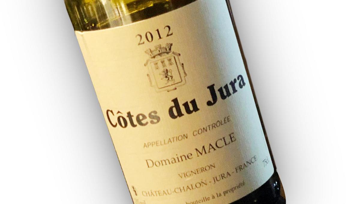 Vino tedna: Côtes du Jura 2012, Domaine Macle