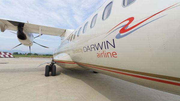 Adriina švicarska družba Darwin Airline razglasila stečaj